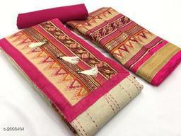 Fancy Khadi Silk Suits & Dress Material