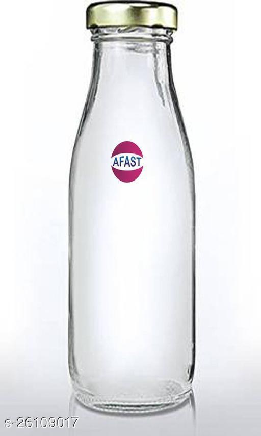 Afast Multi Purpose Glass Transparent Milk Bottle, 1 Bottle, 1000 Ml