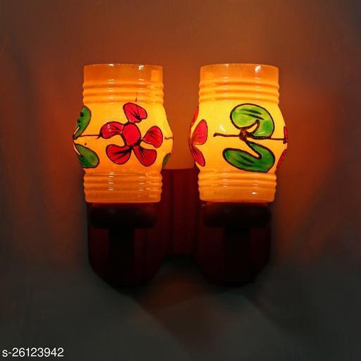 Colorful Glass Wall Lamp Light