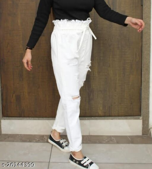 SATIMA Women'S Denim Fancy  Jeans _Funky Jeans  Pant