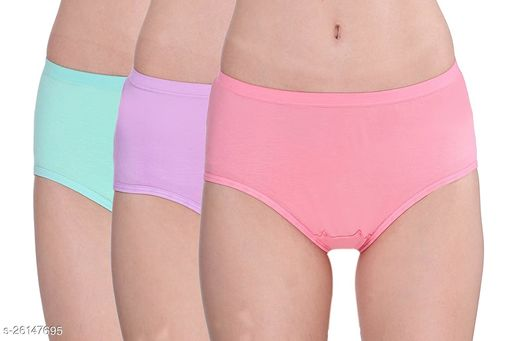 Women Pack of 3 Bikini Panties