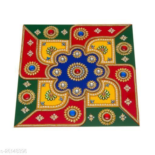 Reusable Acrylic Rangoli for Floor Decoration in Diwali - Handicraft - AAR003