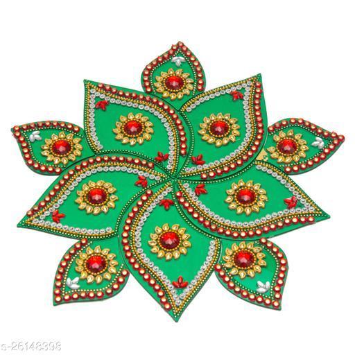 Reusable Acrylic Rangoli for Floor Decoration in Diwali - Handicraft - AAR004