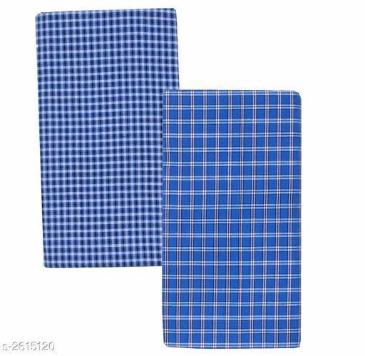 Men's Cotton Lungis (Pack Of 2)