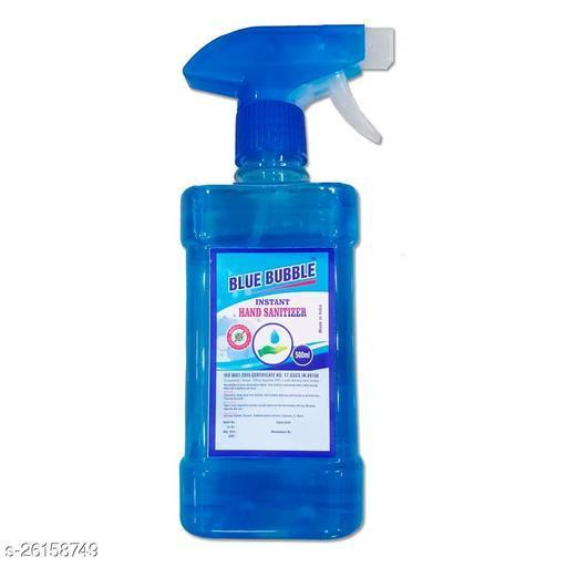 Lovely Fashion Blue Bubble Spray Hand Sanatizer - Alcohol 70% - Kill Germs 99.9% - 500ml Spray