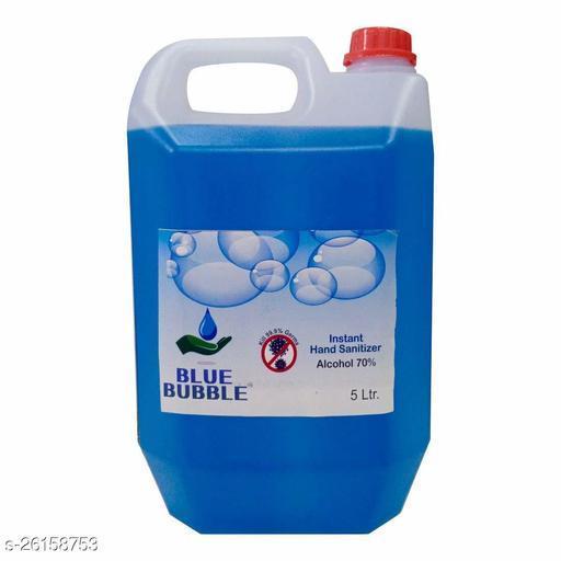 Lovely Fashion Blue Bubble Instant 5 Ltr Sanitizer- Alcohol 70% - Kill Germs 99.9% Hand Sanitizer Cane