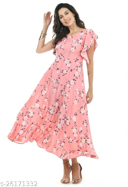 INNA WOMEN PRINTED STYLISH DRESS