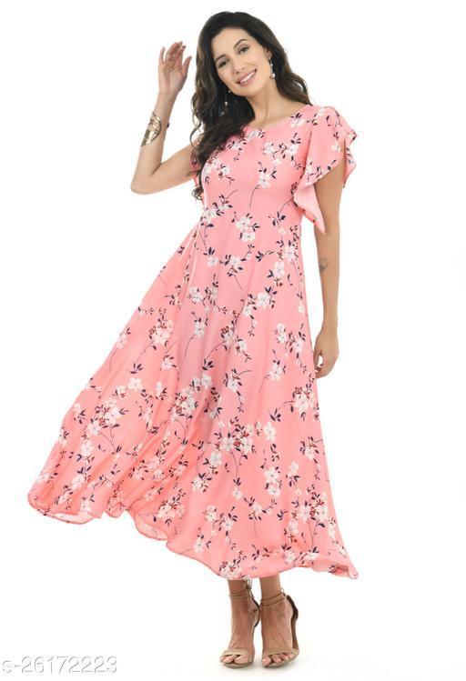 NOBEY WOMEN PRINTED STYLISH DRESS