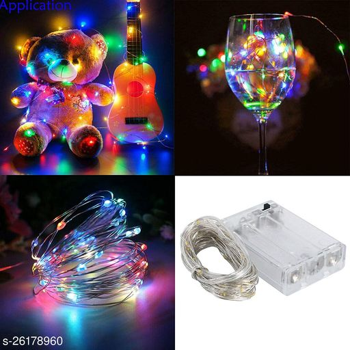 X Pulse 20 LED Battery Operated Wine Bottle String Lights with Cork for Jar Party Wedding Festival Cafe Decoration Colorful Mini DIY Party Christmas Wedding (Pack of 2, Multicolor)