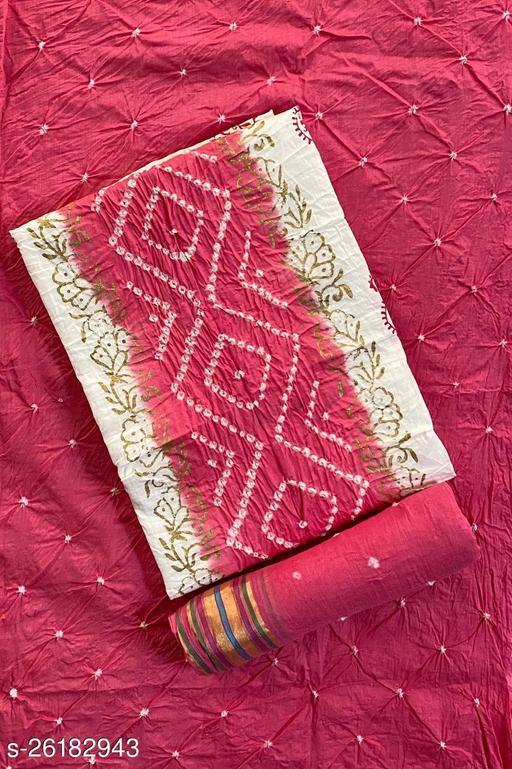 Fancy Original Panel Bandhani Suits & Dress Material