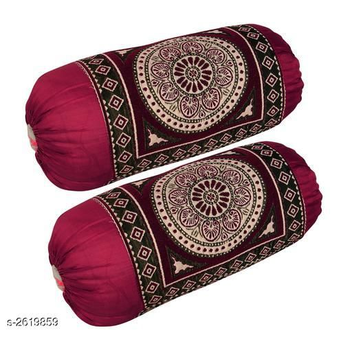 Trendy Cotton Bolster Covers Combo