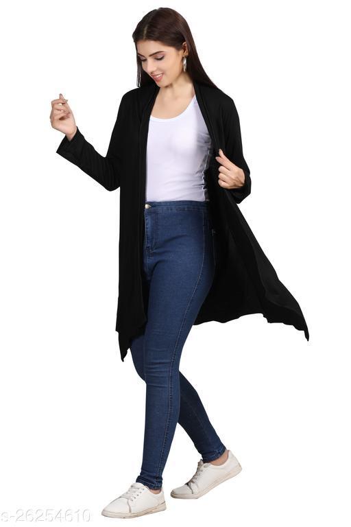 Stylish Fashionable Women Capes, Shrugs & Ponchos