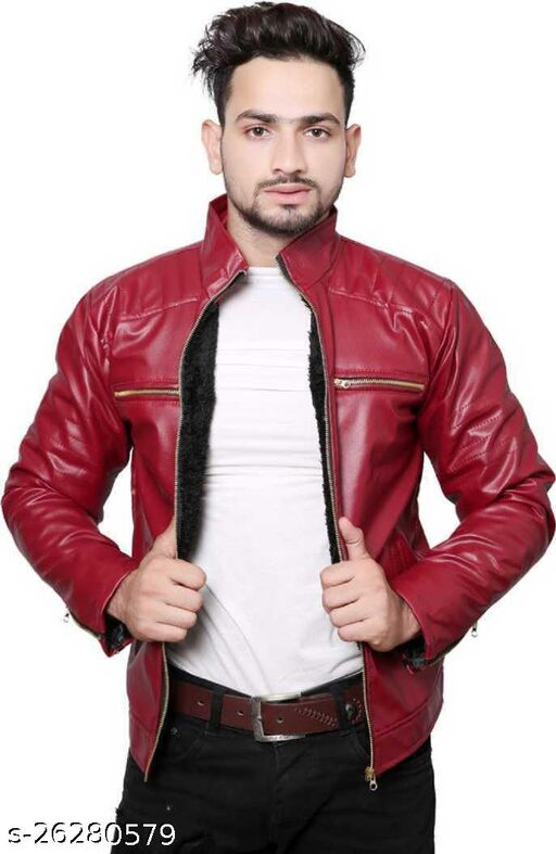 RED JACKET DOUBLE CHAIN_52