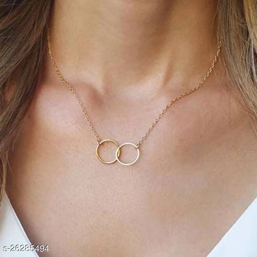 Chaming Gold Friendship Necklace