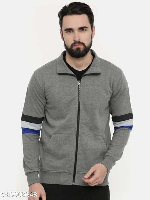 Unsully Men's Cotton Jacket/ Solid Colourblocked Jacket for men