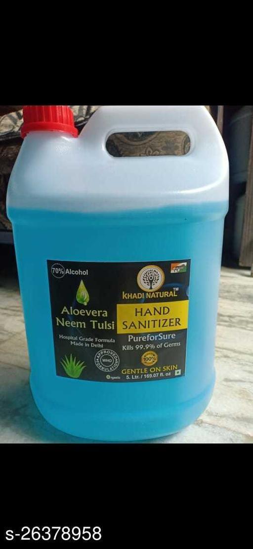 Hand Rub Sanitizer 5 L