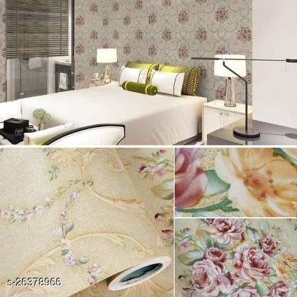TRENDECO 45 x 500cm Wallpaper For Walls - Wall Sticker For Home Self Adhesive & Water Proof Wallpaper Roll 5 Meter (It'll Cover 24sq Area)
