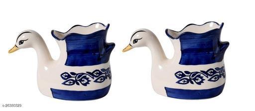 Ceramic Plant Pot in Duck Shape (4.5x7.5x3 ) Inch