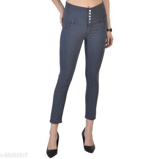 NEON 9 Women's Solid Denim Jeans