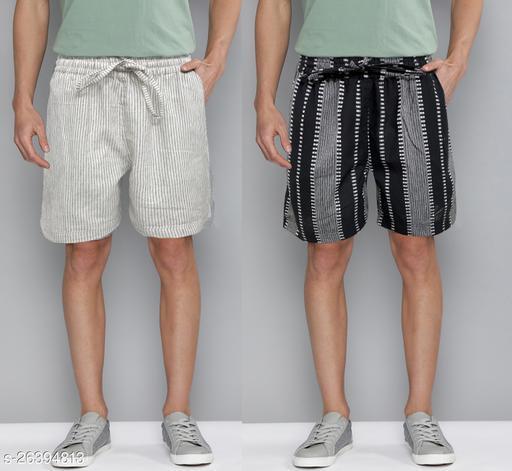 Designer Trendy Men Shorts Combo of 2 Pieces