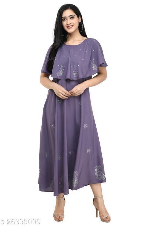 IQRA FASHION WOMEN PRINTED STYLISH DRESS