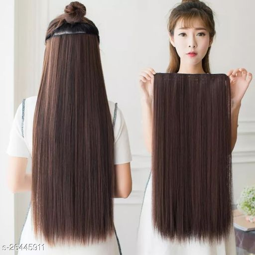 Attractive Women's   Black  Hair Extension