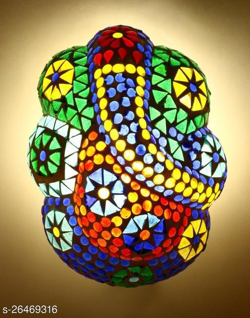 Sanctified Ganesha Spiritual Wall Lamp