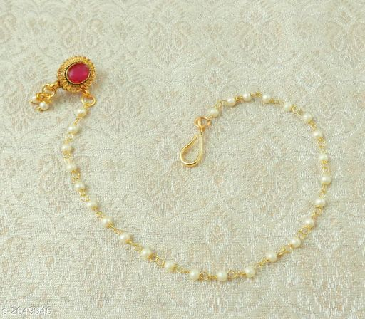 Women's Copper Gold Plated Nosepins