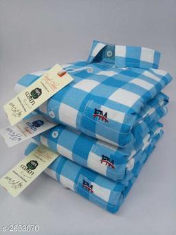 Stylish Premium Cotton Printed Men's Shirt