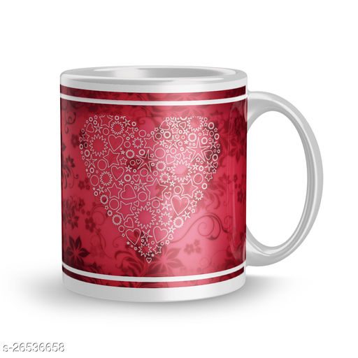 Love Rose Valentine Day Best Gift for Kids,Brother,Gift for Girlfriend,Boyfriend,Husband,Wife Tea Mugs