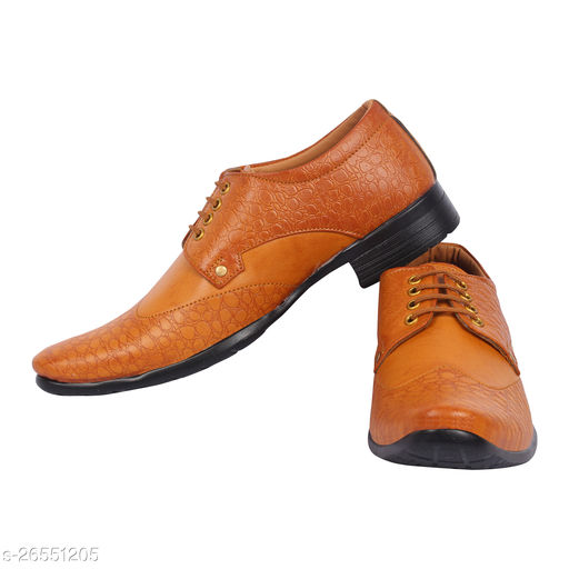 Kaneggye Tan Shoes for Men