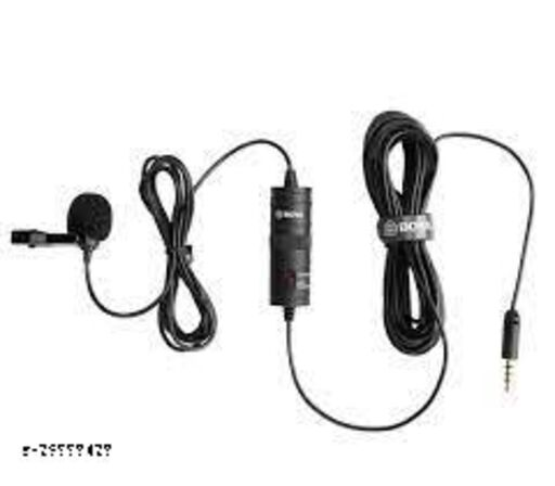 Boya Lavallier Mic with 20 feet cable for smartphone, camera, PC & Laptops 20 ft