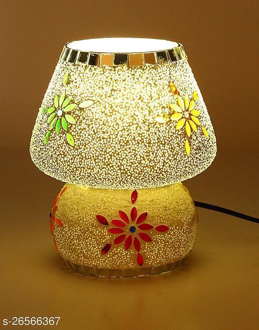 Somil Multi Colour New Handmade Designe Table Lamp (Set Of 1)