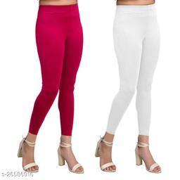 Premium Cotton Ankel Legging perfect fit Black & Nblue