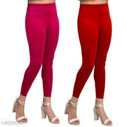 Premium Cotton Ankel Legging perfect fit Camel & White