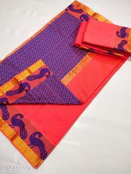 heavy designer  pure silk saree