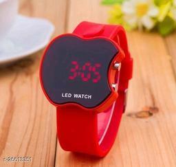Kid's Apple Shaped Stylish Digital Watch