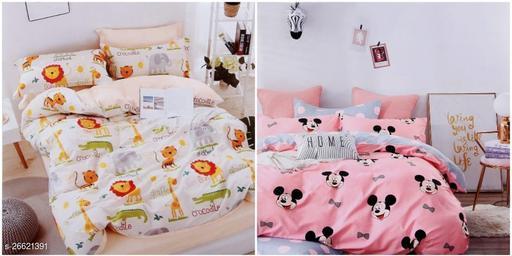 Comfortable Modern Bedsheet Combo