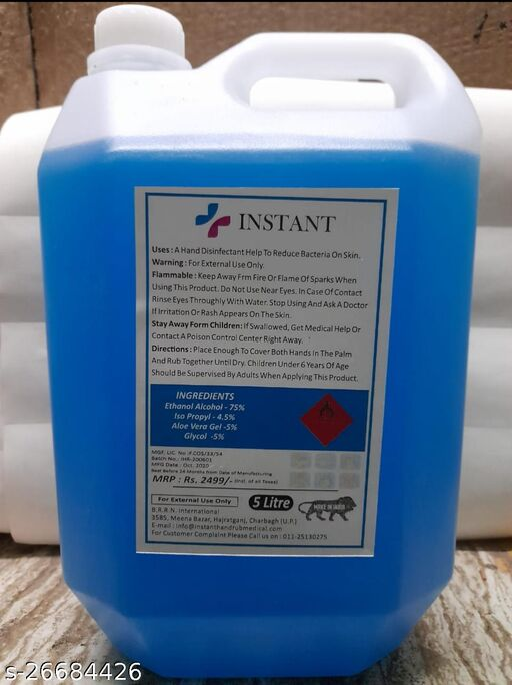 Fancy Sanitizers/Disinfectant