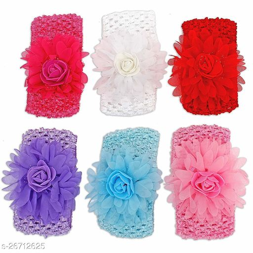 Trendy Women's   Multicolor Fabric Hair Bands