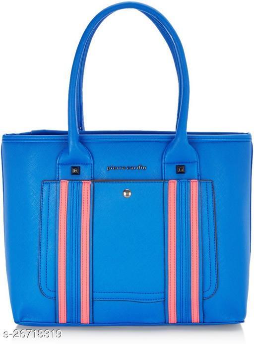 PIERRE CARDIN Women Blue Satchel