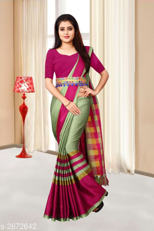 Adorable Silk Women's Belt Sarees