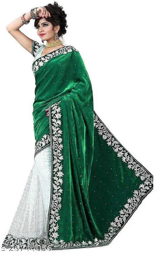 Fancy Velvet Saree