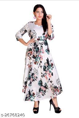 Casual Printed Long Dresses