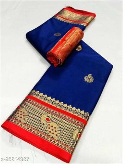 Attractive Soft Silk Sarees