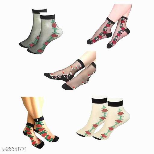 Trendy  Women's Multicolor Socks