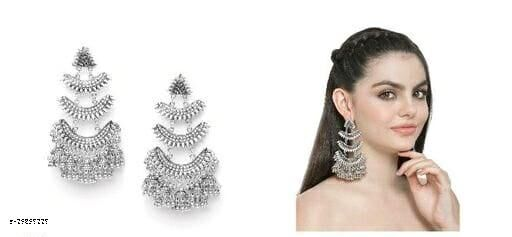 Desinger beautiful big earrings for women & girls