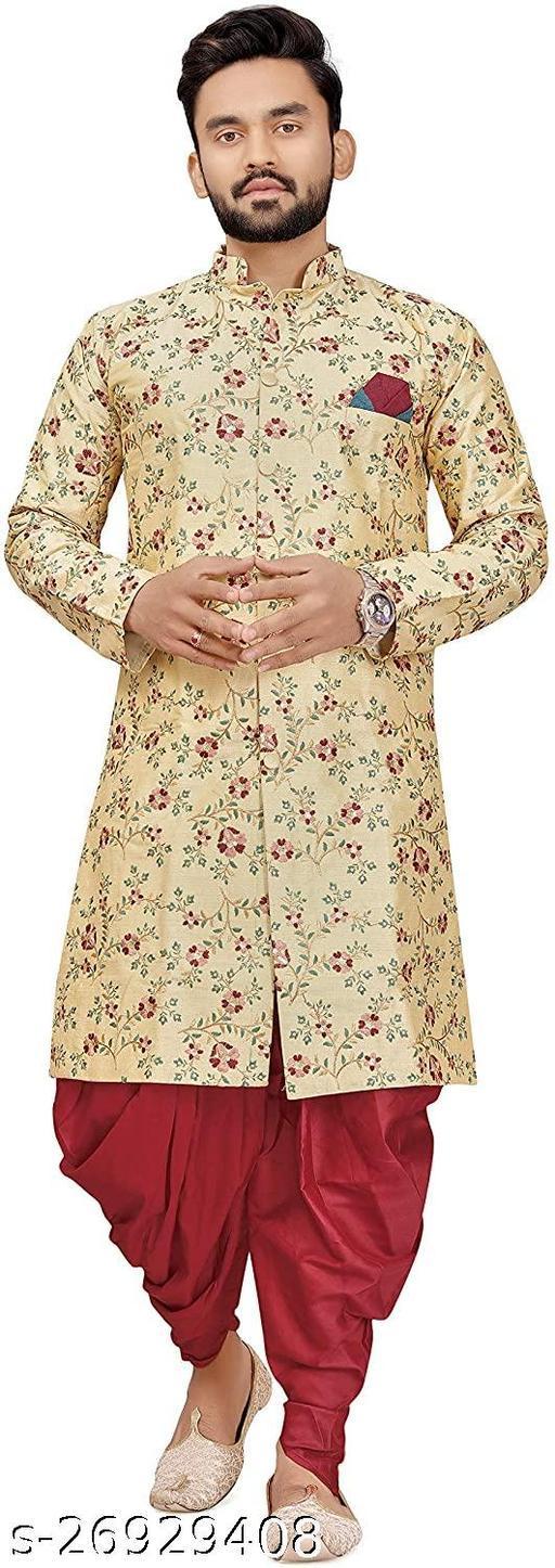 Mens Indo Western Style Sherwani Set