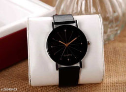 diamond cut glass watch for Boys
