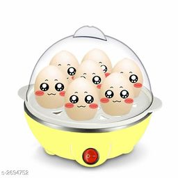 Shopper52 Portable Electric 7 Egg Boiler Egg Poacher Egg Cooker - EGGCOOKER